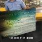 有�C玻璃�V告牌UV平板打印�C 透明��克力彩印�C�S家直�N 小字清晰
